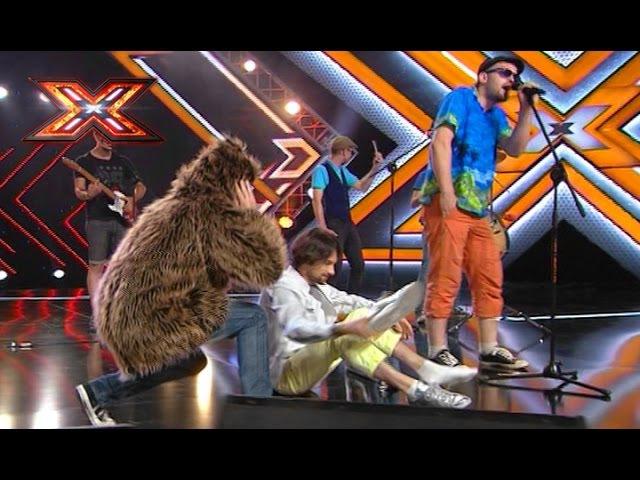 Музиканти із Житомира роздавали шкаретки суддям телепроекту Х-фактор.ВІДЕО