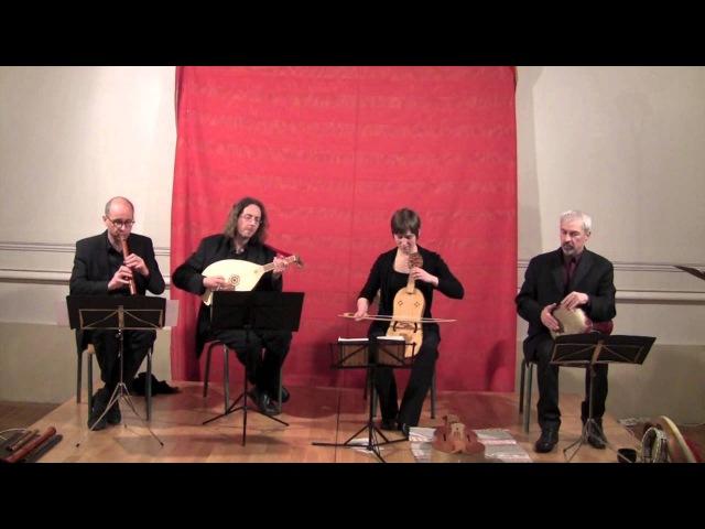 Bernart de Ventadorn : Can l'erba fresch (Ensemble Céladon : chant, luth, vièle, flûte, perc)
