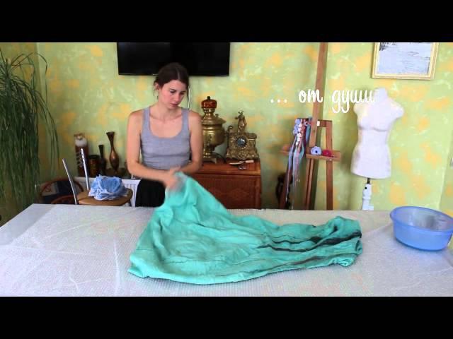 Валяное платье легко и с любовью Лена Баймут