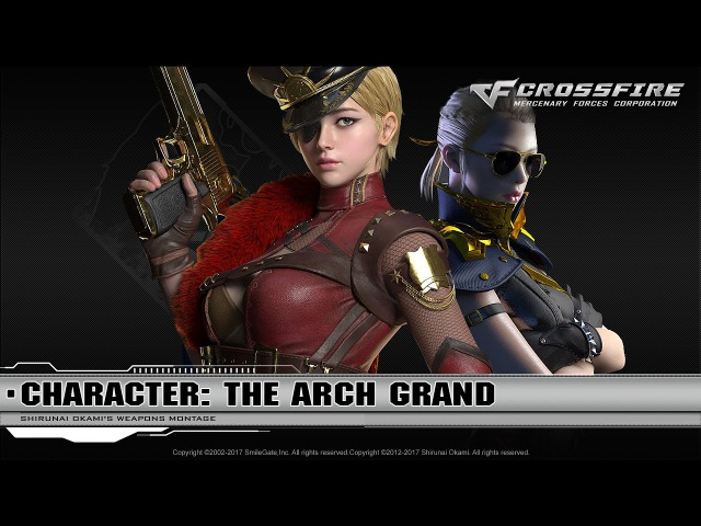 CrossFire Character : The Arch Grand ☆