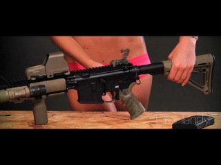 How-To Field Strip and Clean an AR-15 Rifle With Ashley