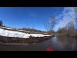 Сплав по реке Малая Истра  (часть1)