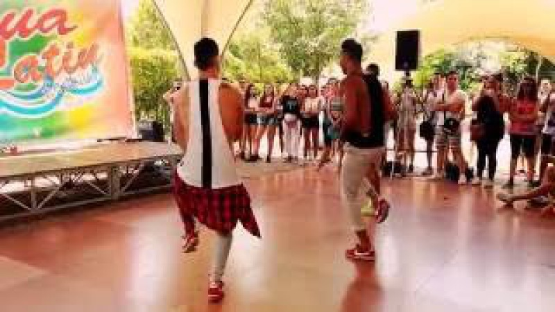 Cuban flex -Agua Latin Festival 2016- stage raggaeton level open