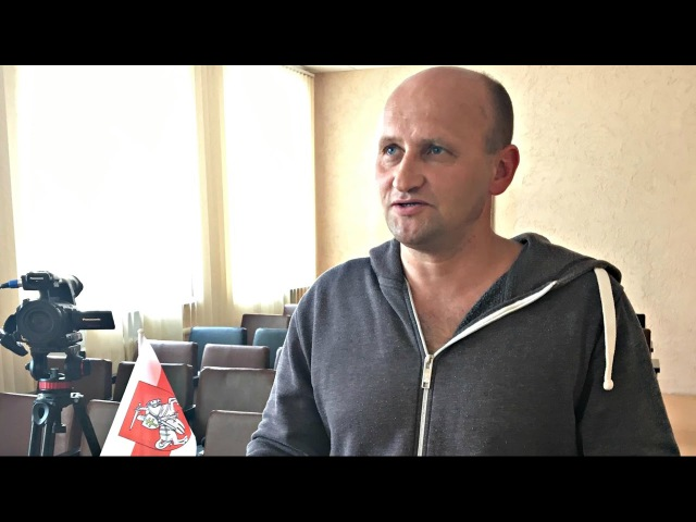 Міліцыя і падаткоўцы ціснуць на сям'ю незалежнага журналіста Кастуся Жукоўскаг...