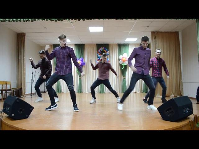 возвращение.танец-поздравление на 8 марта 2017 сш№14 г. Брест от выпускников 2015-2016