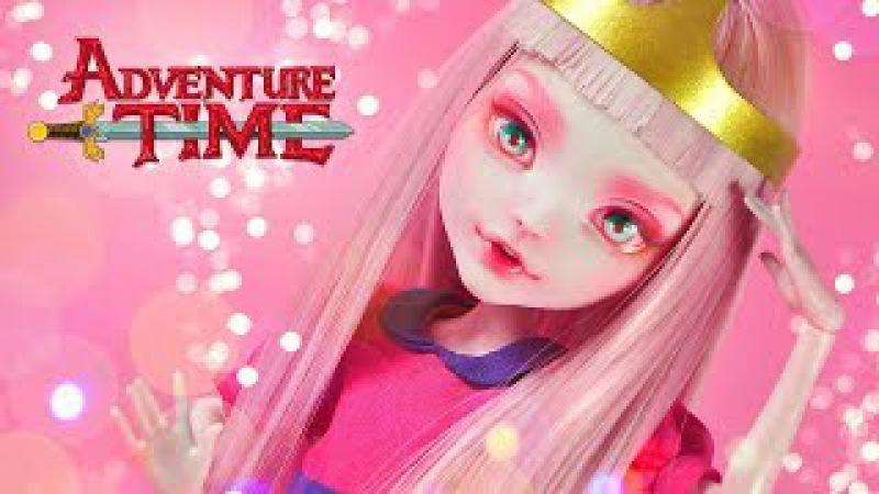 Princess Bubblegum (Adventure Time) | Custom MH Doll Repaint | Mozekyto 5