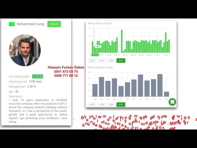 Questra Holdings (Türkçe Sunum -Türkiye Ek Gelir)
