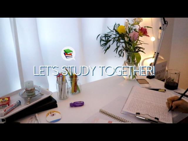📚 No talking ASMR | 같이 공부해요! Studying ASMR, writing , page turning, white noise, 공부ASMR, 백색소음, 노토킹
