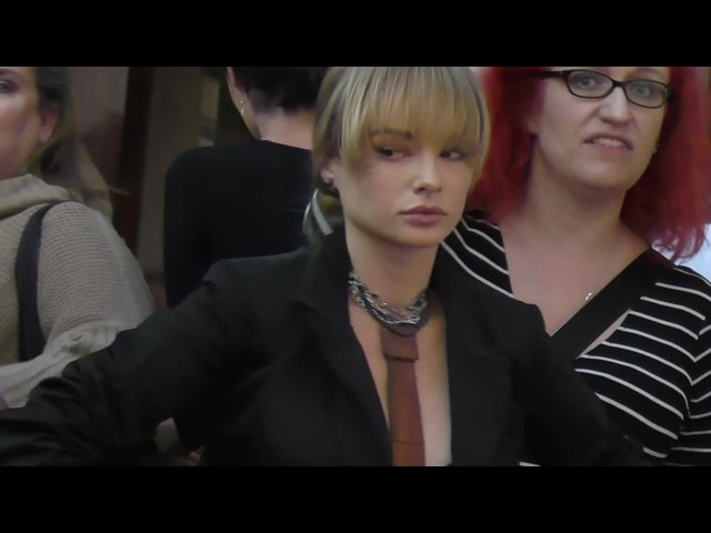 Ashley Rickards | Suit and Tie