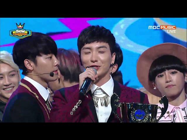 140910 Super Junior 슈퍼주니어 - MAMACITA 1ST WIN кфк