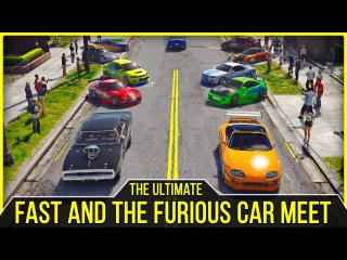 The Ultimate Fast and the Furious Car Meet