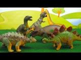Динозавры MEGASAURS для Детей - Игрушки Тиранозавр Рэкс, Трицератопс, Брахиозавр, Ст ...