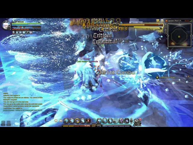 Dragon Nest SEA Daidalos Hardcore Lv93 Elestra Awakening Skill