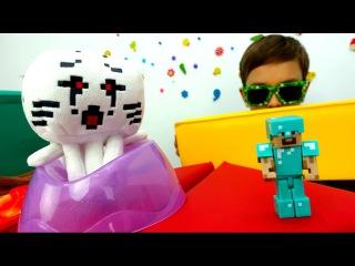 Майнкрафт видео: экзамен для Стива! Как хорошо ты знаешь Minecraft? Мультики Майнкрафт