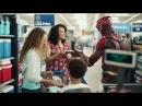 Флэш - в школьной рекламе Walmart 2017 Лига Справедливости