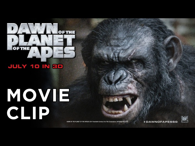 Dawn of the Planet of the Apes (Exclusive Movie Clip