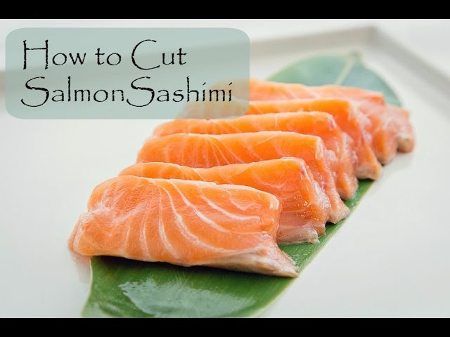 How to Cut Salmon for Sashimi and Nigiri | Fish for Sushi