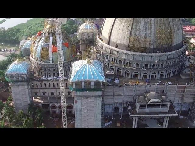 Новое вдохновляющее видео Храма Ведического Планетария воздушная съёмка Июль