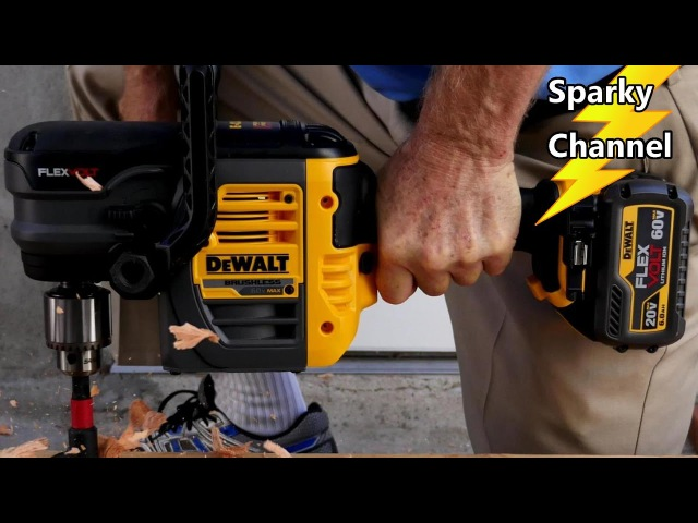 DeWalt 60V MAX Stud and Joist 1/2 Drill Review and Demonstration