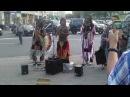 Индейцы играют национальную музыку в Москве Indians play their national music in Moscow