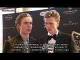 Интервью с Хенриком и Тарьяй на церемонии Gullruten 2017/2 (rus sub)