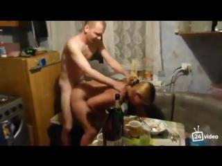 Секс видео по пьяне