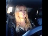 Чеченка красиво поёт за рулём_ Николь Ю Nika