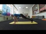 Упражнения для мышц ПРЕССА. Прямая мышца живота + косые. 5 Вариаций