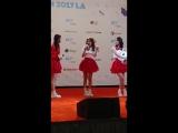 Fancam  170820  OH MY GIRL (Hyojung)  KCON 2017 LA Hi-Touch Event