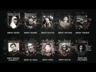 Undisputed World Bboy Masters Final Line Up
