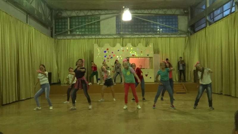 танец амазонок 3 отряда 2017 2