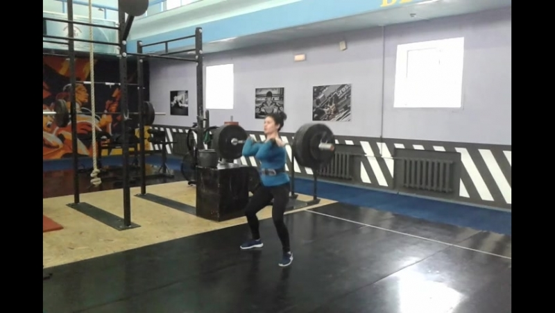 Руденская Наталья. Связка 70 кг