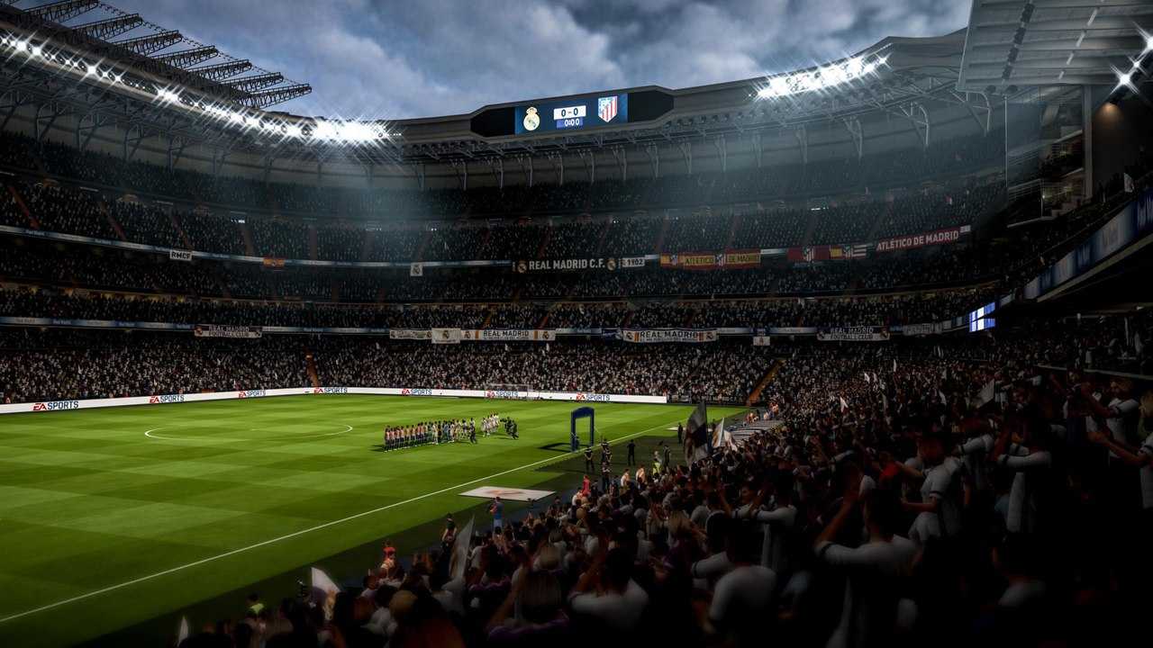 Скриншот игры FIFA 18