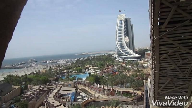 Не станет преувеличением если сказать что аквапарк Wild Wadi в Дубае это одно из самых заметных мест для семейного отдыха