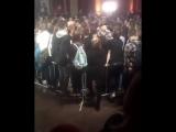 Oxxxymiron vs Гнойный , небольшой отрывок из баттла