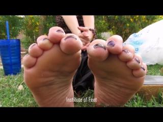 Dvet Feet And Soles On Break mature hispanic women