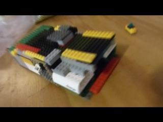 1 часть. LEGO у меня дома! хонда космо корабль...