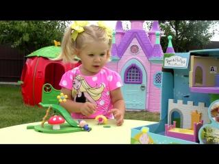 ✿ Бен и Холли МАЛЕНЬКОЕ КОРОЛЕВСТВО Бена и Холли Ben And Hollys Little Kingdom Площадка и Замок