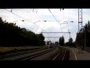Скоростной электропоезд Hyundai HRCS2-005 поезд 732 Киев-Запорожье на перегоне Горяиново-Диёвка