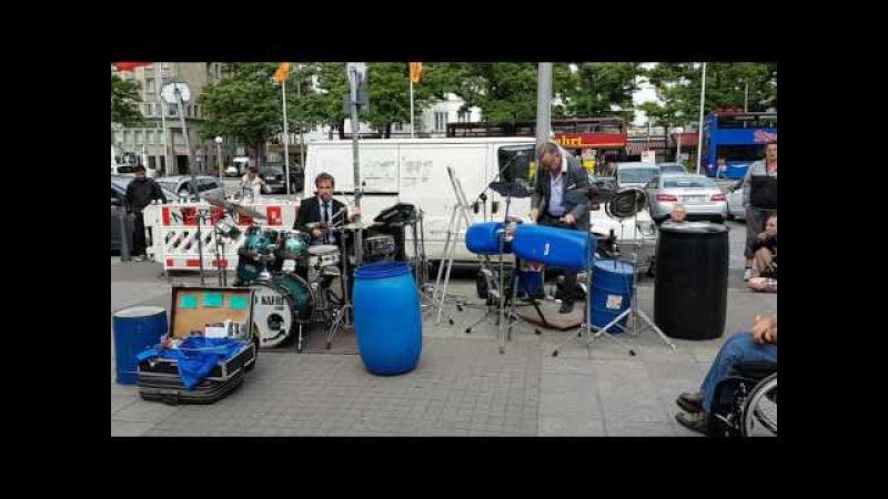 Drum the World Hamburg Christian von Richthofen Oded Kafri