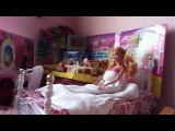 A day in Yasmin's life  A barbie stop motion