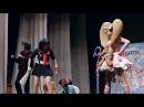Косплей-сценка по аниме Kill la Kill Покроши героя Танибата 2014