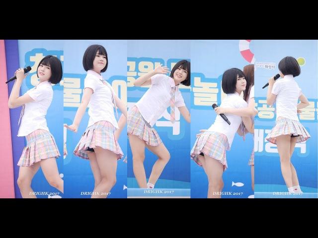 170722 소녀주의보Girls'Alert (샛별) - 소녀지몽 [청계중앙공원 물놀이축제 개막식] 직캠fanca