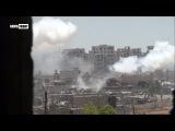 ССА прорывается сквозь оборонительные линии Айн Тарма на северо-востоке Дамаска