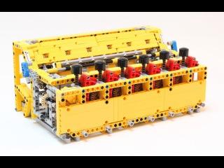 Механический калькулятор из Lego
