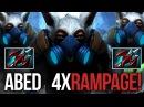 Abed EPIC MEEPO RAMPAGE Gameplay | 33 KILLS INSANE DOTA 2