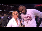 LeBron James & Kyrie Irving Postgame Interview | NBA Finals 2017 | NBA Playoffs Game 4 CAVS vs GSW