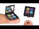 Miniature Makeup DIY (actually works!) - Eyeshadow Palette - YolandaMeow♡