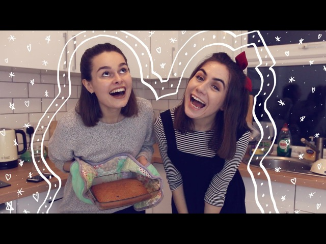 Baking Banana Bread Never Have I Ever | Lucy Moon and Dodie Clark