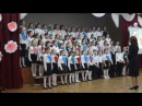 """Лещенко Юлия - выступление в хоре """"Мир Похож На Цветной Луг"""""""
